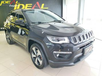 Foto numero 0 do veiculo Jeep Compass LONGITUDE F - Preta - 2016/2017