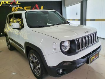 Foto numero 0 do veiculo Jeep Renegade LNGTD AT - Branca - 2018/2019